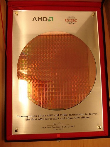 ATi 40nm wafer