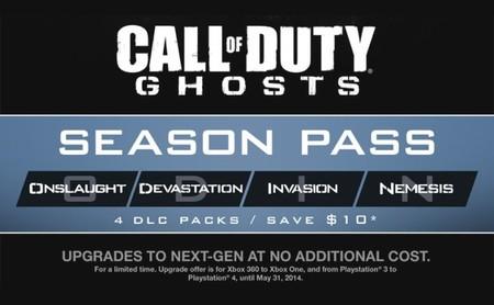 Algunos detalles más sobre el pase de temporada de 'Call of Duty: Ghosts'