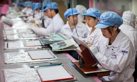 Apple Foxconn Manufacturing