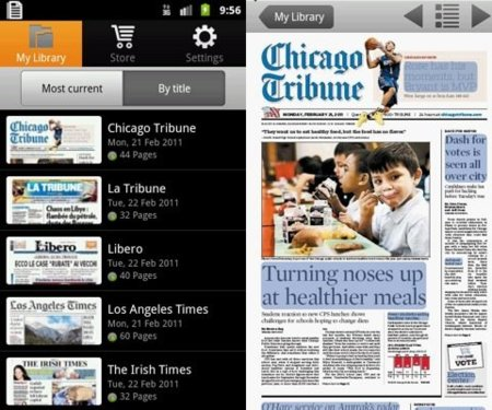 Press Reader para Android