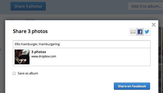 Dropbox Share