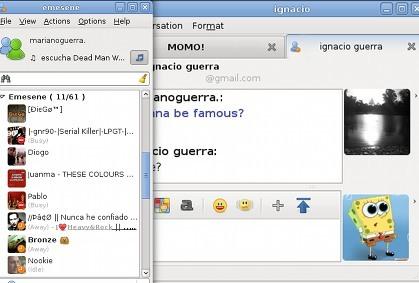 Emesene 1.0: un primer gran paso del genial cliente de mensajería instantánea