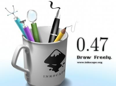 Liberado Inkscape 0.47