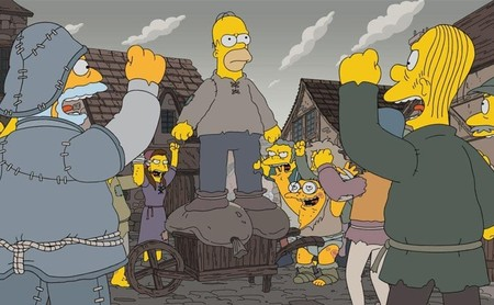 'Los Simpson' regresa triunfando como parodia de 'Juego de Tronos' pero malgastando sus tramas episódicas
