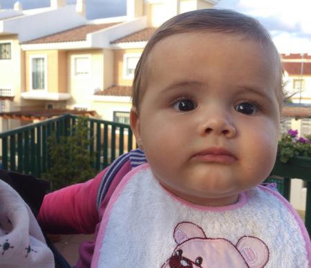 Daniela con Xperia S en Chilches