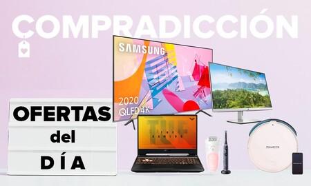 19 ofertas del día en Amazon: smart TVs LG y Samsung, portátiles gaming ASUS, robots aspiradores Rowenta o cuidado personal Braun a precios rebajados