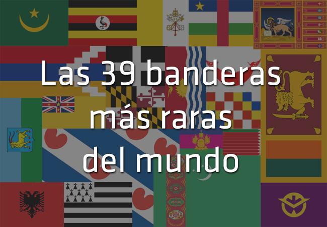 Las 39 banderas m s raras del mundo for Las habitaciones mas raras del mundo
