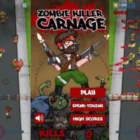 Zombie Killer Carnage, sangre y vísceras para un sangriento y zombificado Space Invaders