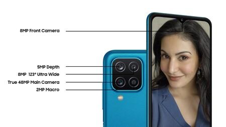 Samsung Galaxy M12 Oficial Caracteristicas Camara