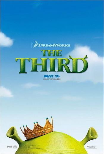 Nuevo póster de 'Shrek 3'