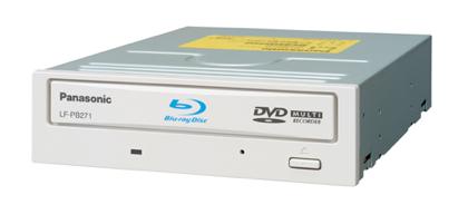 Panasonic LF-PB271JD, grabadora de Blu-ray a 4x