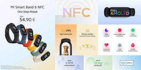 Xiaomi Mi Smart Band 6 Nfc 1
