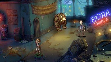 Curiosa mini aventura gráfica de 'Bioshock'