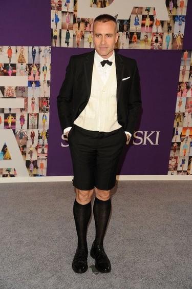 Los hombres en los CFDA Fashion Awards 2010