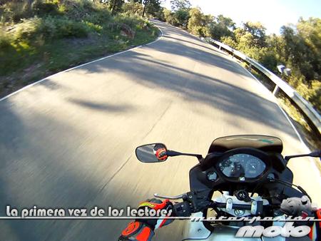 La primera vez de nuestros lectores: Iker, moto grande porque yo soy un pro
