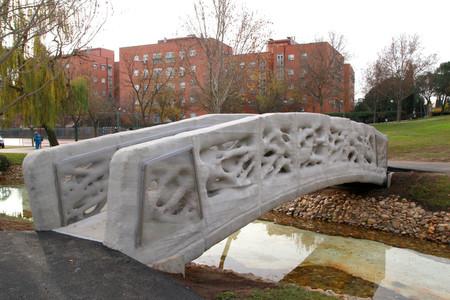 Alcobendas tiene el primer puente peatonal del mundo impreso en 3D