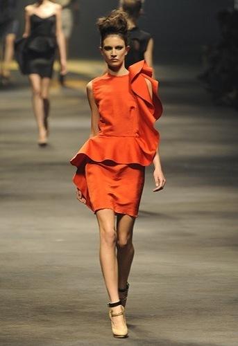 Lanvin, Primavera-Verano 2010 en la Semana de la Moda de París IV