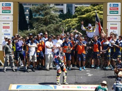 Tobby Price hace historia: segunda participación, primer Dakar
