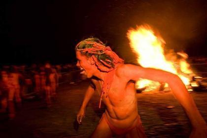 Beltane Fire Festival: celebra la llegada del verano en Edimburgo