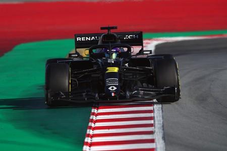 Ricciardo Renault Barcelona F1 2020