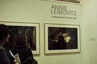Annie Leibovitz en la National Portrait Gallery, hemos estado