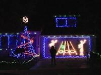 Juega al Guitar Hero con tus luces de Navidad