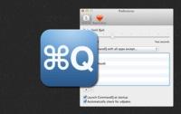 CommandQ, evita el cierre accidental de aplicaciones abiertas