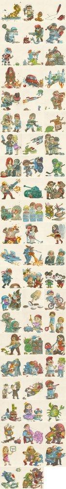 Homenaje a clásicos del 88 de la NES