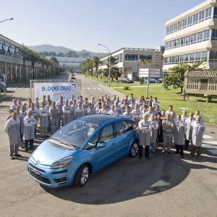 Citroën 9 millones en Vigo