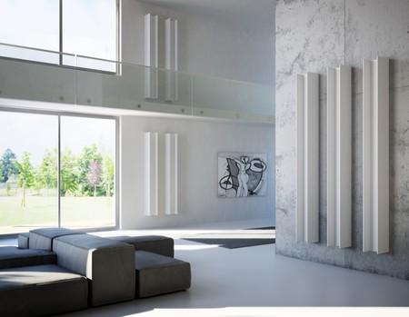 ¿Esculturas o radiadores? novedosas formas para calentar el hogar decorando paredes