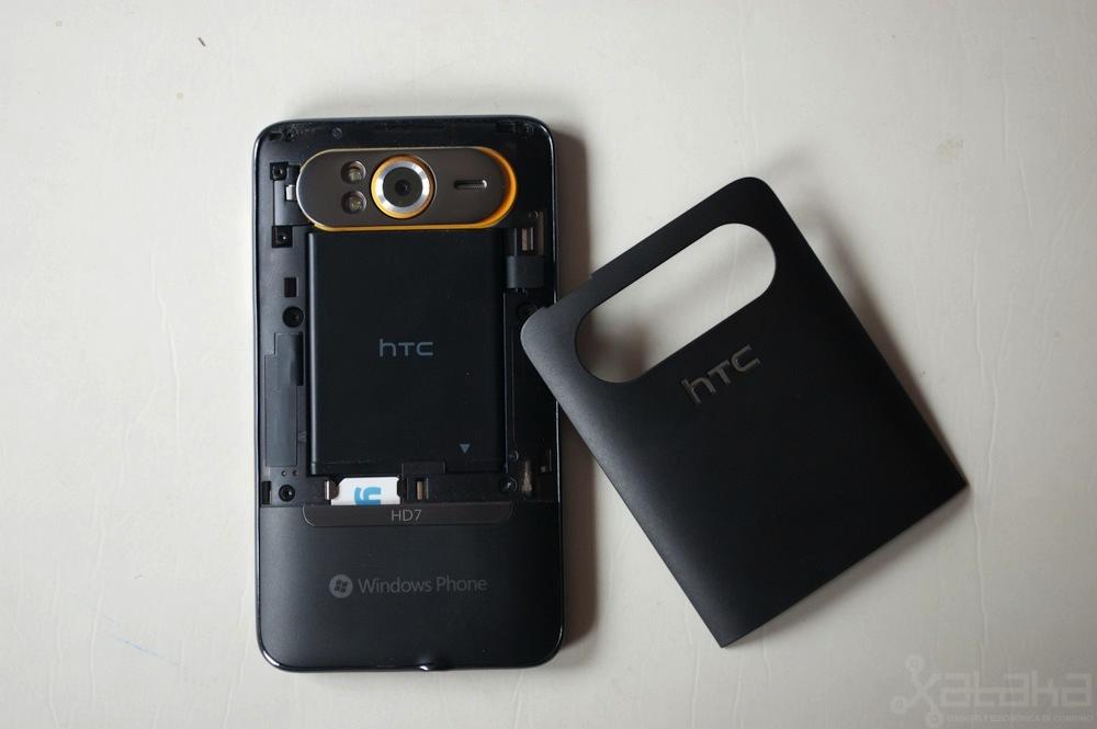 Foto de HTC HD7, análisis (20/21)