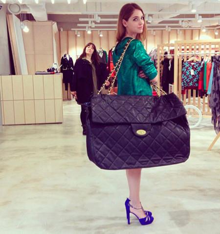 Chiara Ferragni Instagram maxi bolso