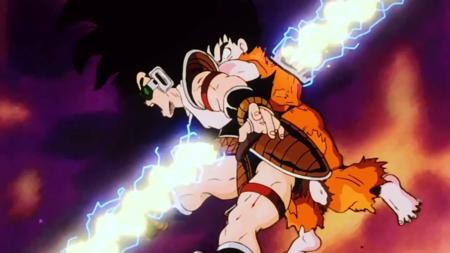 Goku And Raditz Killed