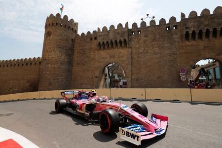 Stroll Baku Formula1 2019