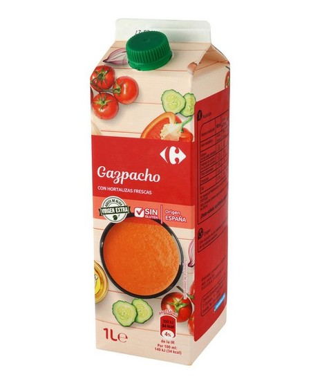 Gazpacho Con Hortalizas Frescas Carrefour