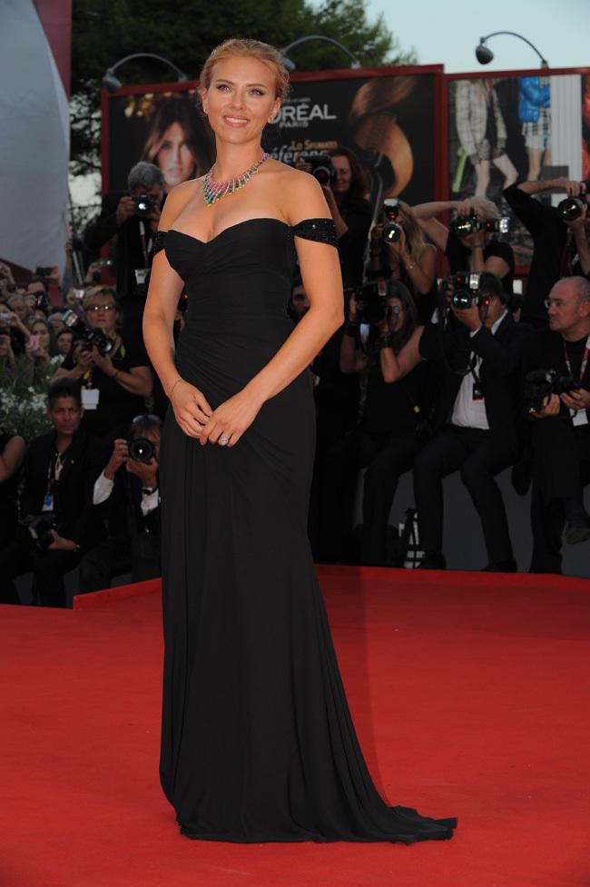 Foto de Scarlett Johansson llegó al Festival de Venecia (3/9)