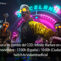 Streaming del modo zombis del COD: Infinite Warfare hoy a las 17:00h (las 10:00h en Ciudad de México) [finalizado]