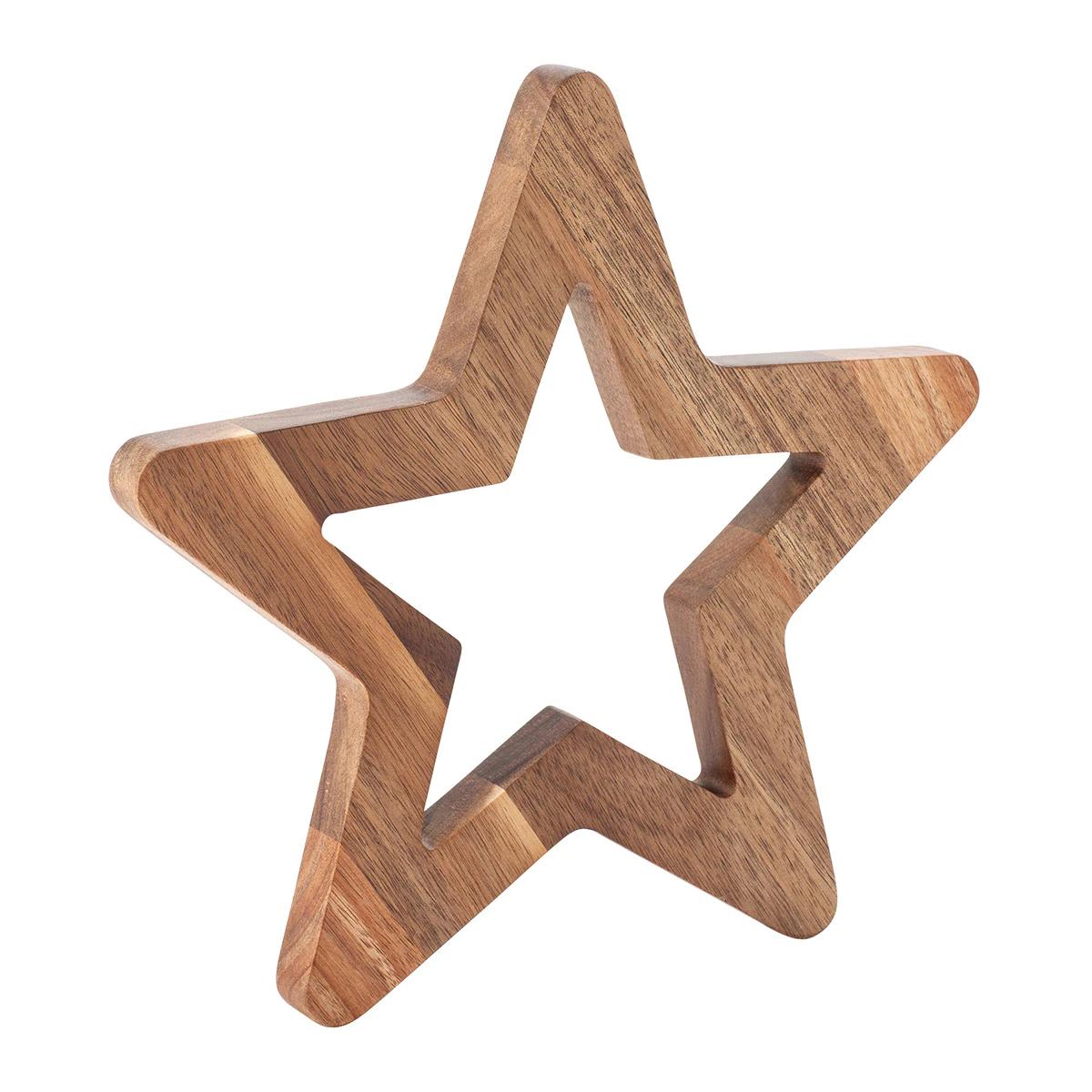 Salvamantel con forma de estrella