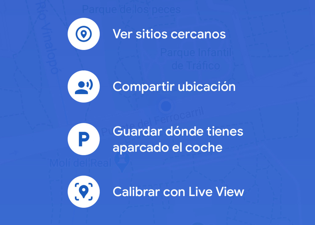 Google Maps en este momento te deja evaluar tu ubicación con Live View