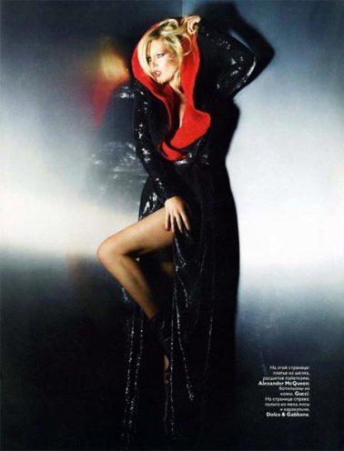 Foto de Kate Moss para Vogue Rusia (1/5)