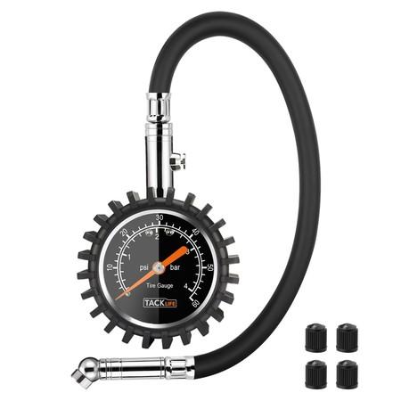 Cupón de 5 euros de descuento en el medidor digital de presión de neumáticos Tacklife TPS02L: ahora 9,99 euros en Amazon