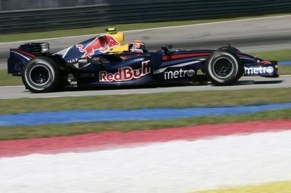 Exhibición de F1 previa a la carrera en Lausitz