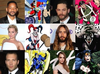 Will Smith, Jared Leto y Tom Hardy encabezan el espectacular reparto de 'Suicide Squad'