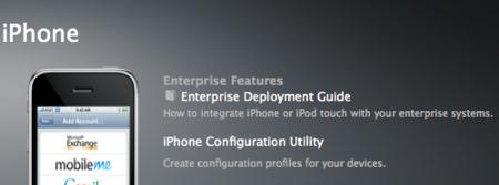 Apple publica las utilidades de configuración del iPhone