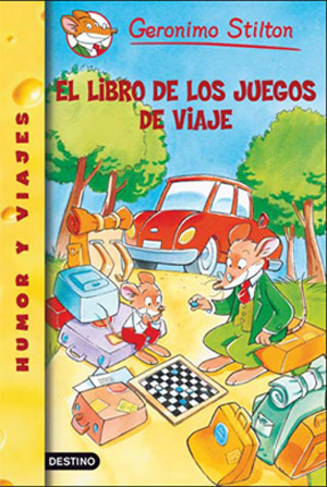 """""""El Libro de los juegos de viaje"""" de Geronimo Stilton"""