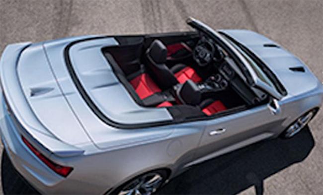 Chevrolet Camaro 2016 Convertible 4 4