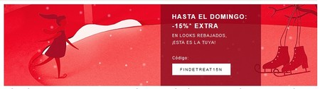 15% de descuento extra en looks ya rebajados en Zalando hasta el domingo siempre que hagamos una compra mínima de 60 euros