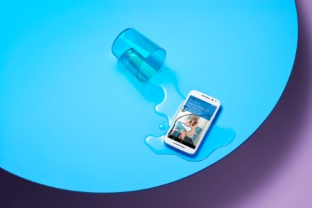 Moto G White Front Waterproof