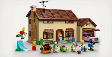 LEGO presenta su nuevo set, Los Simpsons