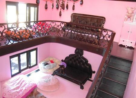 Interior de la casita